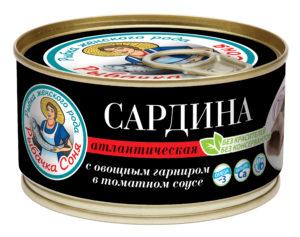 Сардина Рыбачка Соня